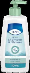 TENA ProSkin Shampoo & Shower   Kombineeritud šampoon ja dušigeel